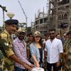 Sayesha Saigal and Ajay Devgn visited Attari border before Independence Day!