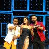 Shakti Mohan, Punit J Pathak and Dharmesh Yelande at Promotion of 'Akira' on sets of Dance Plus