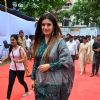 Raveena Tandon at Launch of State-of-the-Art Toilets for Police and Railways