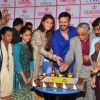 Vivek Oberoi and Jacqueline Fernandes at Celebrates Birthday with NGO Kids