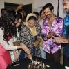 Shabana Azmi : Shabana Azmi, Yuvika Chaudhary and Ashmit Patel gets a warm welcome on Amma Set