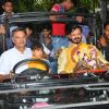 Suresh Oberoi, Vivek Oberoi and Family Bid Farewell to 'Ganpati Bappa'