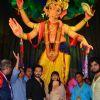 Emraan Hashmi visits Ganesh Galli with his wife