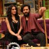 Nargis Fakhri and Riteish Deshmukh at Promotion of 'Banjo' on Sets of The Kapil Sharma Show