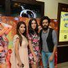 Riteish Deshmukh, Nargis Fakhri and Krishika Lulla at Press meet of 'Banjo' in Delhi