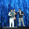 Ajay Devgn : Ajay Devgn with Rithvik Dhanjani at Super Dancer
