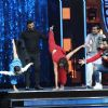 Sonakshi Sinha : John Abraham with Sonakshi Sinha and Rithvik Dhanjani at Super Dancer