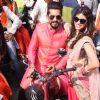 Kishwer Merchant and Suyyash Rai at Kala Chasma Bike Rally