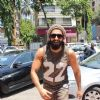 The highly energetic actor Ranveer Singh snapped outside his GYM!