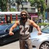Ranveer Singh snapped outside his GYM!