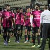 Ranbir Kapoor, Abhishek Bachchan, Raj Kundra and Dino Morea snapped playing Soccer