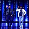 Remo Dsouza : Terence Lewish and Remo D'souza on the sets of Nach Baliye 8