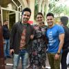 Tabu, Tusshar and Kunal pose together