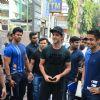 A dashing Hrithik Roshan at a Gym launch