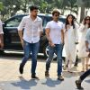 Sidharth Malhotra arrives with Juno Kapoor