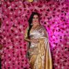 Rekha spotted at Lux Golden Rose Awards