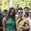 Priyanka Nick after Marriage pictures at Jodhpur Airport