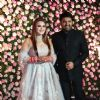 Kapil Sharma and Ginni Chatrath at their Live Reception, Mumbai