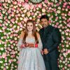 Kapil Sharma and Ginni Chatrath at their Reception, Mumbai