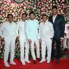 Abbas- Mustan with family at Kapil Sharma and Ginni Chatrath's Reception, Mumbai