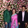 Aditya Narayan with Udit Narayan at Kapil Sharma and Ginni Chatrath's Reception, Mumbai