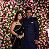 Sharad Kelkar and wife Kirthi Reddy at Kapil Sharma and Ginni Chatrath's Reception, Mumbai