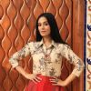 Amrita Rao snapped at 'Thackeray' Interviews