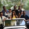Celebrities at the trailer launch of 'Total Dhamaal'