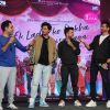 Anil Kapoor and Darshan Raval at NMIMS