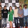 Cast of Lukka Chuppi at the trailer launch