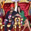 Kartik Aaryan and Kriti Sanon at Lukka Chuppi trailer launch