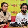 Taapsee Pannu and Amaal Mallik Snapped during Badla song launch