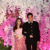 Jeetendra and Ekta Kapoor at Ambani Wedding!