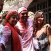 Bollywood stars celebrate Holi around the town!