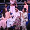 The cast of Kalank at the sets of Super Dancer 3!
