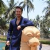 Tiger Shroff caught in a candid moment at the song launch for SOTY 2!