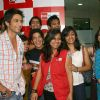 Bollywood actor Shahid Kapoor at BIG 927 FM office for promoting his film ''''Kaminey'''', in New Delhi on Sunday-