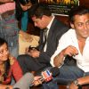 "Bollywood Star Salman Khan talking to media after selling tickets for his upcoming film ""London Dreams"" at Delite Theatre in New Delhi on Monday 26 Oct 2009"