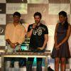 "Director Madhur Bhandarkar, Bollywood actors Neil Nitin Mukesh and Mughda at the promotional event of their upcoming movie ""Jail"" in Mumbai"