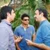 Sharman Joshi and R Madhvan at 3 Idiots Promotional Eevent in Radio Mirchi