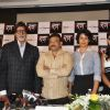 "Bollywood actors Mohnish Behl, Rajat Kapoor, Amitabh Bachchan, Ritesh Deshmukh, Neetu Chandra, Ram Gopal Varma and Gul Panag at the press meet of ""Rann"""
