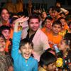 Himesh at Hill Spring International''s dance fusion 2010 event