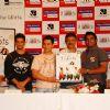 Aamir, Sharman, Rajkumar Hirani and R. Madhavan at 3 Idiots DVD launch at Grand Hyatt