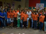 The kids of NGO Akanksha visited on the sets of The Buddy Project