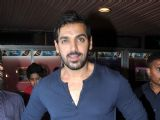 John Abraham promote Shootout at Wadala at Gaiety Galaxy