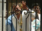 Sanjay Dutt before surrender to court outside his residence Imperial height