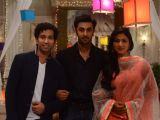 Ranbir Kapoor on the sets of Pyaar Ka Dard to promote Yeh Jawaani Hai Deewani