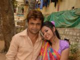 Rajpal Yadav shoots for Hari Kripa Films 'Babuji Ek Ticket Bambai'