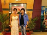 Veena Malik and Rajan Verma at premiere of movie Ziindagi 50:50