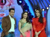 Promotion of Dedh Ishqiya on the sets of Bigg Boss 7